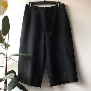 Wool Cullotte Pant